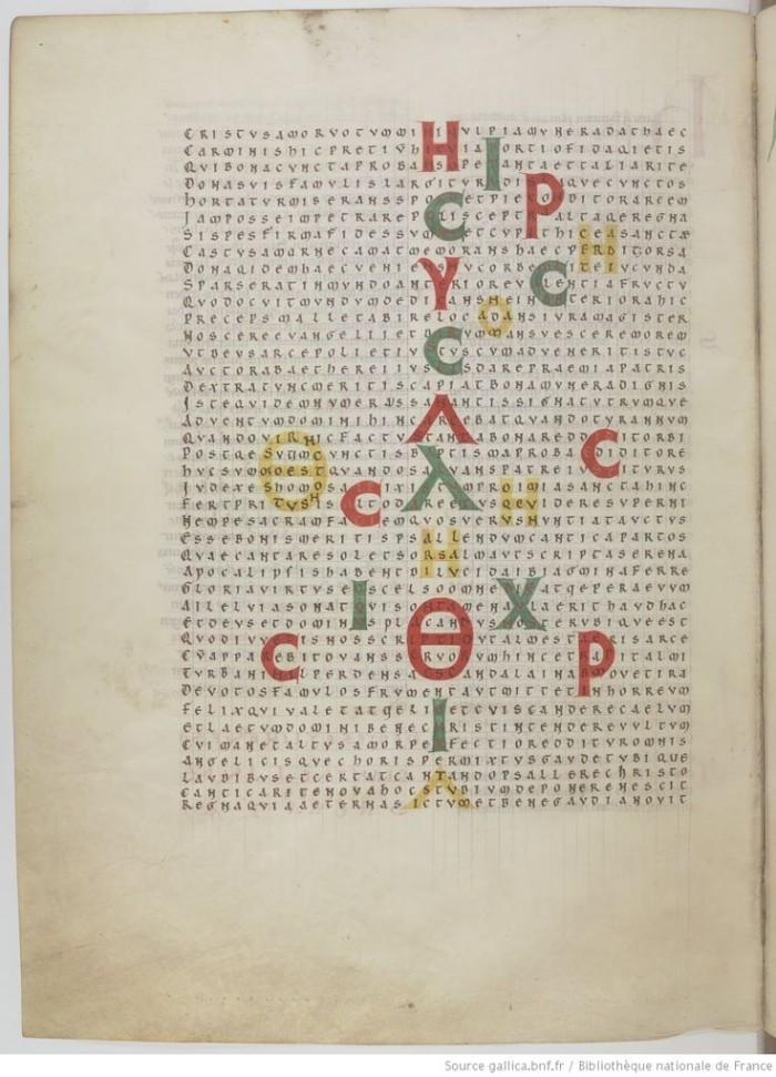 Data umetnost u karolinškoj renesansi: Hrabanus Maurus (c.780-856)